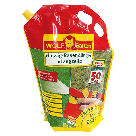 Wolfgarten Rasendüngernachfüllpack Ll 250 R (2,5 L