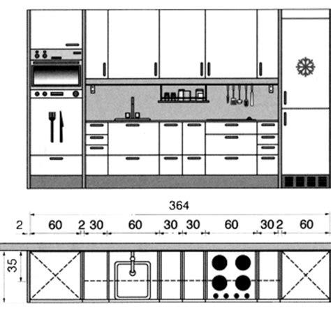 plan de cuisine en ligne plan cuisine gratuit 20 plans de cuisine de 1 m2 à 32 m2