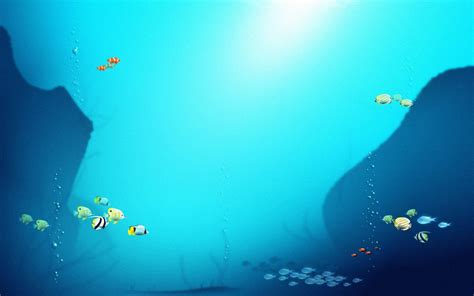 Fish Background Cool Fish Backgrounds Wallpaper Cave