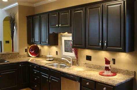 black kitchen cabinets what color on wall kitchen colors for wood cabinets black kitchen 9766