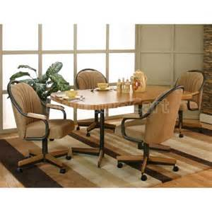 shaw sunset oak bow end dinette w accents cramco