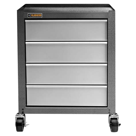 Rolling Garage Cabinets by Gladiator Starter Series 35 In H X 27 In W X 16 In D