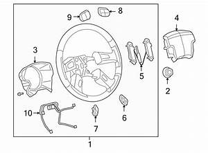 Buick Rainier Steering Wheel Wiring Harness  Control