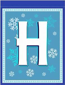 banner letter   Frozen birthday banner, Winter wonderland ...