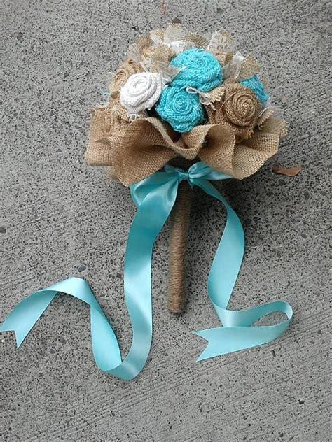 ideas  burlap wedding bouquets  pinterest