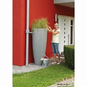 Reserve D Eau De Pluie : r cup rateur d 39 eau de pluie 300 litres 2 en 1 avec bac ~ Melissatoandfro.com Idées de Décoration