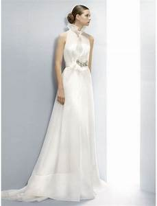 Wedding dress with collar sang maestro for Wedding dress with collar