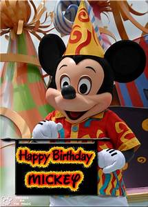 Happy Birthday Mickey Mouse : 20 best mickey mouse and friends images on pinterest disney stuff disney magic and cartoon ~ Buech-reservation.com Haus und Dekorationen
