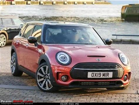 Mini 2019 Facelift by 2019 Mini Clubman Facelift Testing Team Bhp