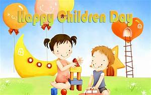 Happy Childrens Day Greetings And 4K Ultra Hd Pc Wallpaper ...