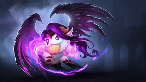 league  legends poro morgana wallpapers hd desktop