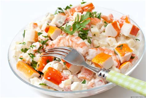 salade de pates froide au surimi salade de surimi m 233 m 233 h 233 l 232 ne