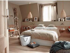 Modele Deco Chambre : couleur lin conseils et associations pour vos murs super d co ~ Teatrodelosmanantiales.com Idées de Décoration