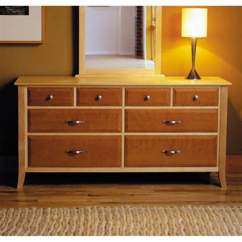 maple cherry  drawer dresser woodworking plan