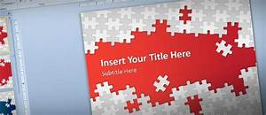 Download Free Puzzle Pieces Powerpoint Template For