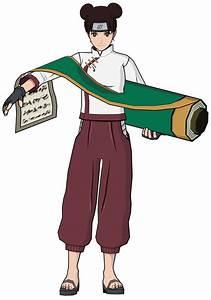 Tenten Characters Art Naruto Shippuden Clash Of