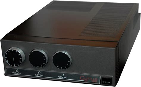Cyrus One  Hifi Database  Amplifiers
