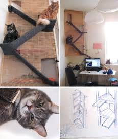 cat bed diy the evolution of a cat tower home tree atlas