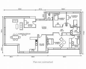 plan de maison 180 m With lovely plan de maison en 3d 5 maison contemporaine 12 detail du plan de maison