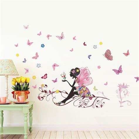 Kinderzimmer Ideen Für Mädchen Schmetterling by Schmetterlings Fee Aufkleber F 252 R Die Kinderzimmer Wand