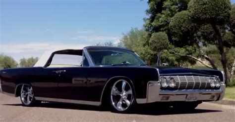 jet black 1964 lincoln continental classic cars hot cars