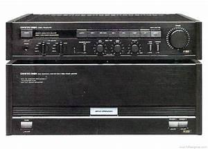 Onkyo M-502 - Manual - Stereo Power Amplifier