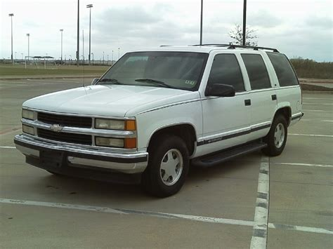 1998 Chevrolet Tahoe by 1998 Chevrolet Tahoe Photos Informations Articles