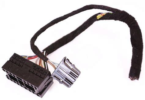 headlight switch harness plugs pigtail wiring vw jetta