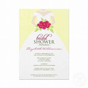 sample bridal shower invitations wording With wedding shower invite wording