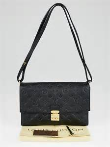 louis vuitton black monogram empreinte leather fascinante