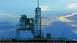 SpaceX Falcon 9 launch aborted in final countdown