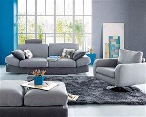 deco interieur bleu et gris deco salon bleu et gris With deco salon gris et bleu