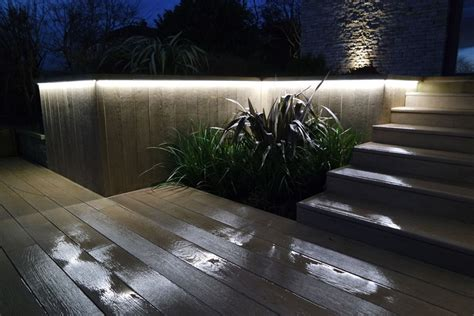 composite decking outdoor living space