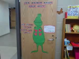 Grinch Christmas Door Decorating Contest Ideas