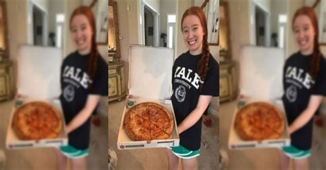 One Girls Simple Love Of Papa Johns Pizza Gets Her Into Yale