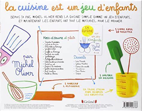 jeu pour faire de la cuisine coffret la cuisine est un jeu d 39 enfants michel oliver