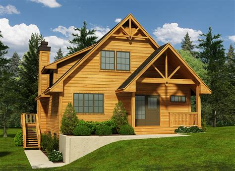 narrow cottage plans narrow lot cottage house plan 9818sw 2nd floor master suite cad available canadian