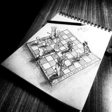 drawings   chess  pinterest