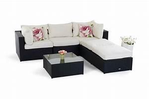 Loungemöbel Outdoor Ausverkauf : rattan lounge gartenm bel kuala schwarz ~ Markanthonyermac.com Haus und Dekorationen