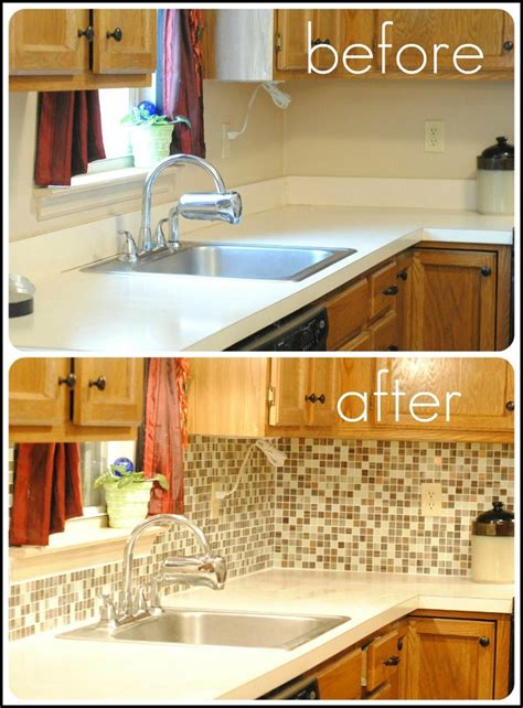 backsplash tile for kitchen peel and stick remove laminate counter backsplash and replace with tile