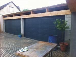 portes de garage sectionnelle residentielle portech With grande porte de garage sectionnelle