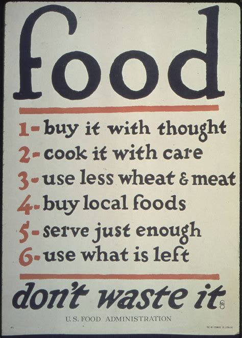 affiche vintage cuisine this wwi propaganda poster has surprisingly advice