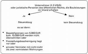 13b Ustg Rechnung : abzugsverfahren aktuelle einzelfragen zum steuerabzug bei bauleistungen ~ Themetempest.com Abrechnung