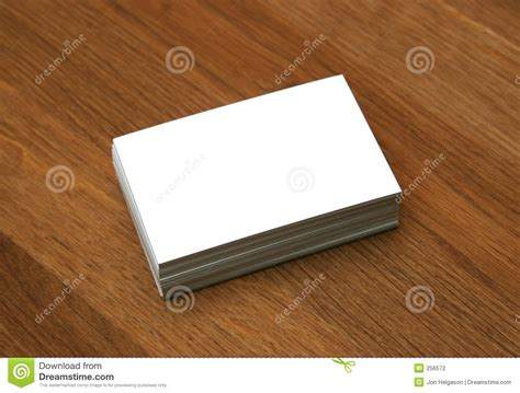 blank business cards stock photography image