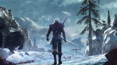 Witcher Geralt Rivia 4k Hunt Wild Wallpaperflare