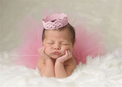tutu  crown set blush pink newborn tutu girls