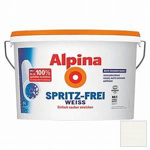 Alpina Wandfarbe Weiß : alpina spritz frei weissangebot bei bauhaus kw in deutschland ~ Articles-book.com Haus und Dekorationen