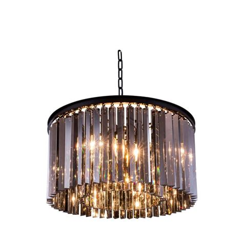Brown Chandeliers by Lighting Sydney 8 Light Mocha Brown Chandelier