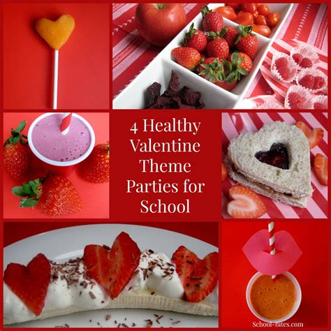 4 Healthy Valentine's Day Theme Parties for School (& Home ...