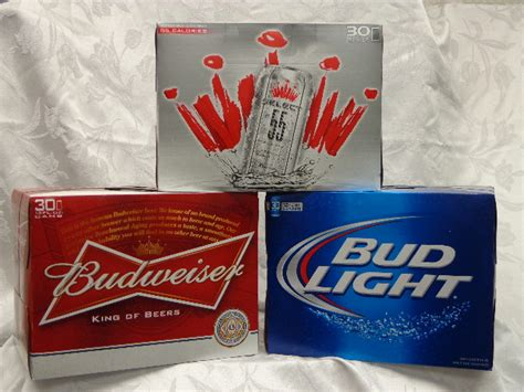 bud light 30 pack how much is a 30 pack of coors light iron